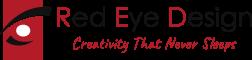 red eye design tauranga logo